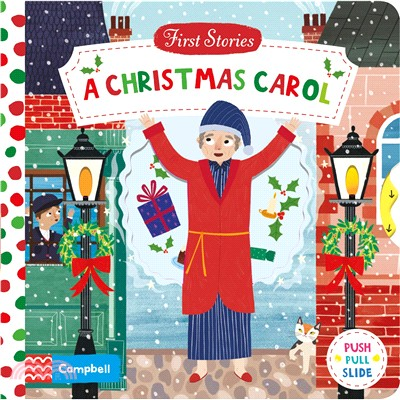 A Christmas Carol (First Stories)(硬頁推拉書)