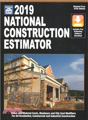 National Construction Estimator 2019 ― Includes Free Estimating Software Download