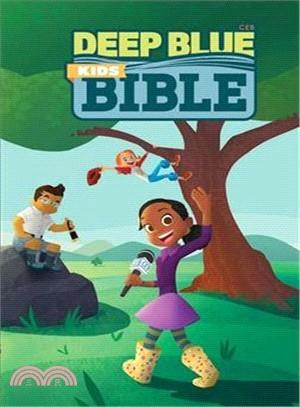 Holy Bible ― Ceb Deep Blue Kids Bible Wilderness Trail