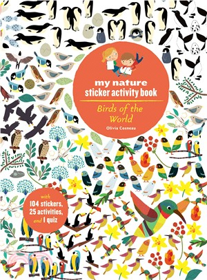 Birds of the World ― My Nature Sticker Activity Book