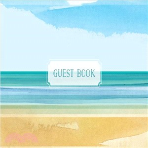 Coastal Guest Book ― Featuring Beautiful Coastal Illustrations