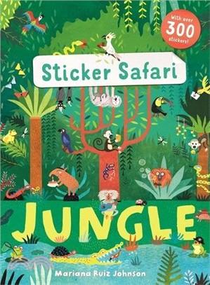 Sticker Safari: Jungle (with over 300 stickers)