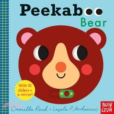 Peekaboo Bear-with 10 sliders and a mirror! (硬頁書)