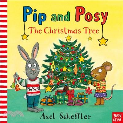 Pip and Posy: The Christmas Tree (硬頁書)(英國版)*附音檔QRcode*