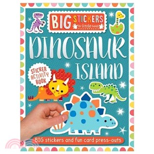 Big Stickers for Little Hands: Dinosaur Island