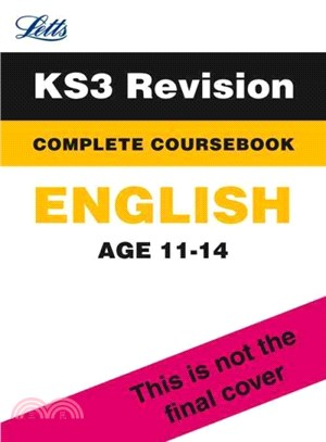 Letts Key Stage 3 Revision - English Complete Coursebook ― Complete Coursebook