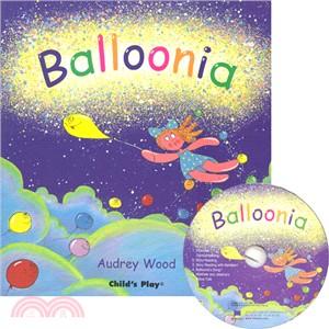Balloonia (1平裝+1CD)(韓國JY Books版) 廖彩杏老師推薦有聲書第2年第1週