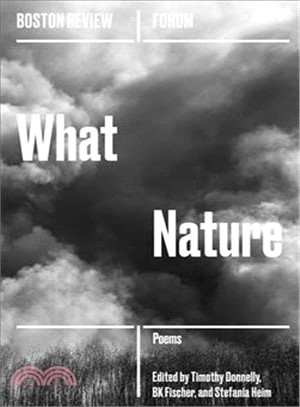 What Nature ― The Future of Ecopoetics