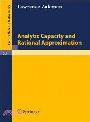 Analytic Capacity and Rational Approximation