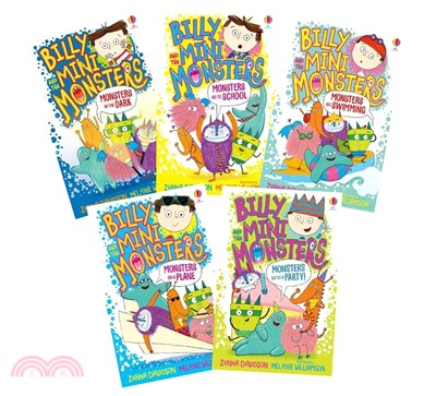 Billy and the Mini Monsters 1-5 (平裝版套書)