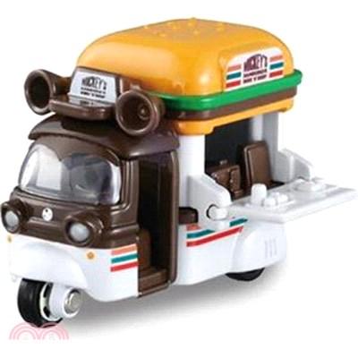 TOMICA迪士尼小汽車-米奇7-11漢堡餐車(特別仕様版)