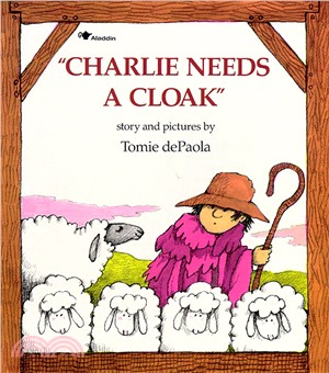 Charlie Needs a Cloak (1平裝+1CD) 廖彩杏老師推薦有聲書第2年第28週