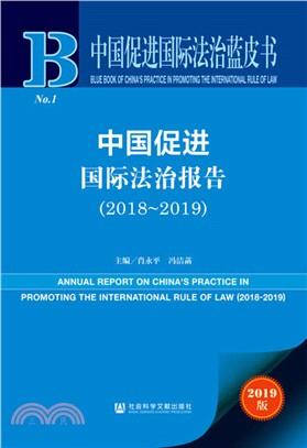中國促進國際法治報告(2018-2019)(簡體書)