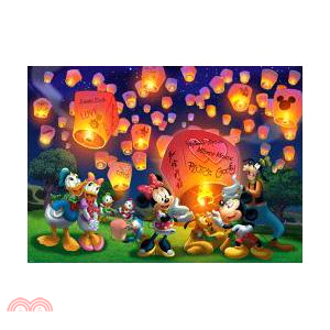 Mickey Mouse&Friends天燈拼圖1600片